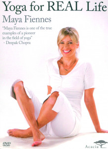 Yoga for Real Life av Maya Fiennes (DVD)