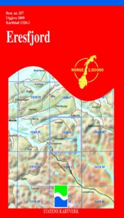 eresfjord kart Eresfjord (Kart, falset)   Turkart | Hobbyklubben