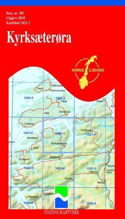 kyrksæterøra kart Kyrksæterøra (Kart, falset)   Turkart | Hobbyklubben