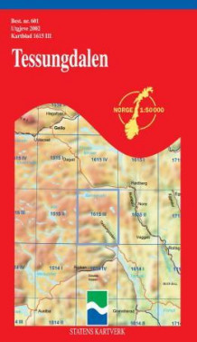 tessungdalen kart Tessungdalen (Kart, falset)   Turkart | Hobbyklubben tessungdalen kart