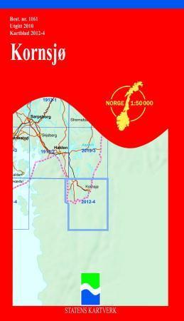 kornsjø kart Kornsjø (Kart, falset)   Turkart | Hobbyklubben kornsjø kart