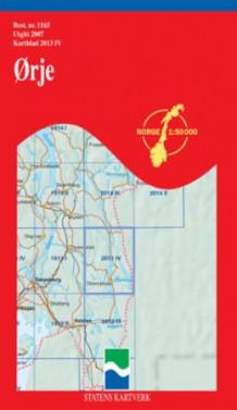 ørje kart Ørje (Kart, falset)   Turkart | Hobbyklubben ørje kart