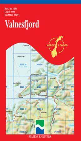 valnesfjord kart Valnesfjord (Kart, falset)   Turkart   Hobbyklubben