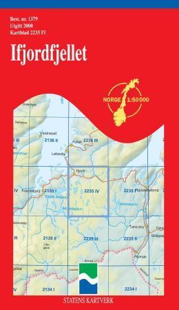 ifjordfjellet kart Ifjordfjellet (Kart, falset)   Turkart | Hobbyklubben ifjordfjellet kart