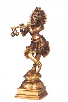 Krishna, messing