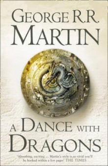 A dance with dragons av George R.R. Martin (Heftet)