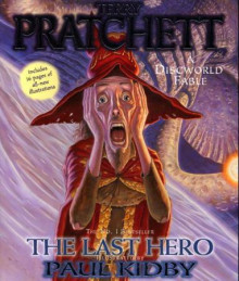 The last hero av Terry Pratchett (Heftet)