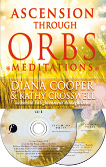 Ascension Through Orbs Meditations av Diana Cooper og Kathy Crosswell (Lydbok-CD)