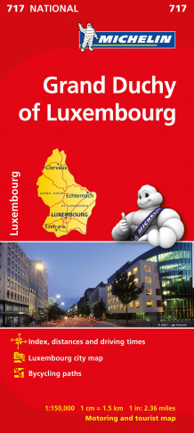 Grand duchy of Luxembourg (Kart, falset)