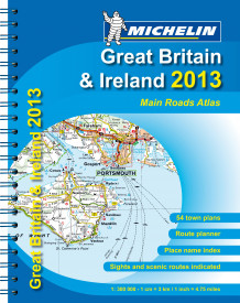 Great Britain & Ireland (Spiral)