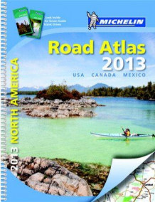 North America road atlas 2013 (Spiral)