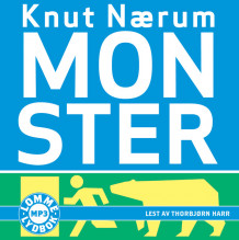Monster av Knut Nærum (Lydbok MP3-CD)