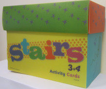 Stairs 3+4 Activity Cards av Heidi Håkenstad (Pakke)