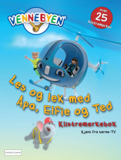 Vennebyen - Les og lek med Apa, Elfie og Ted av CreaCon Entertainment AS (Heftet)