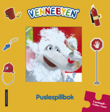 Vennebyen puslespillbok av CreaCon Entertainment AS (Innbundet)
