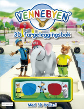 Vennebyen - 3D fargeleggingsbok av CreaCon Entertainment AS (Heftet)
