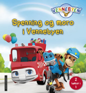 Spenning og moro i Vennebyen - 2 bøker i 1 av CreaCon Entertainment AS (Innbundet)