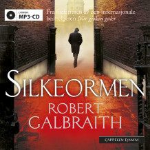 Silkeormen av Robert Galbraith (Lydbok MP3-CD)