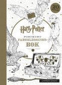 Harry Potter Postkort Fargeleggingsbok (Heftet)