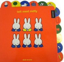Tell med Miffy av Dick Bruna (Pappbok)