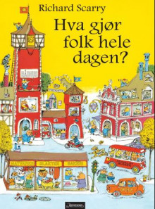 Travelby av Richard Scarry (Innbundet)