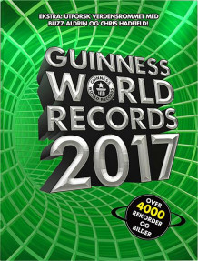 Guinness world records 2017 av Tore Sand (Innbundet)