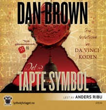 Det tapte symbol av Dan Brown (Lydbok-CD + MP3-CD)