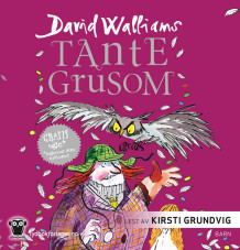 Tante Grusom av David Walliams (Lydbok-CD)