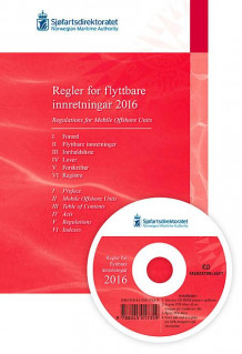 Regler for flyttbare innretninger 2016 = Regulations for mobile offshore units 2016 (Heftet)