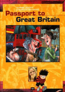 Passport to Great Britain - CD av Joanne Jensen og Rebecca Richmond (Lydbok-CD)