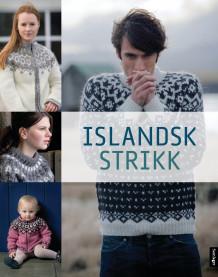 Islandsk strikk (Innbundet)