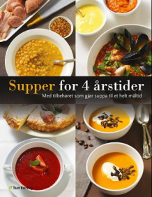 Supper for 4 årstider av Anna Sjögren (Innbundet)