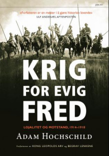 Krig for evig fred av Adam Hochschild (Innbundet)