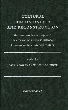 Cultural discontinuity and reconstruction (Innbundet)