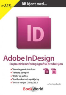 Adobe InDesign av Tom Helge Berglie (Heftet)