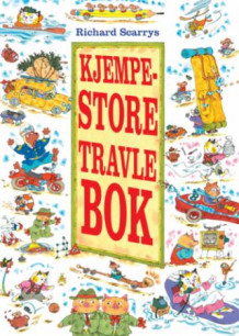 Richard Scarrys kjempestore travle bok av Richard Scarry (Innbundet)
