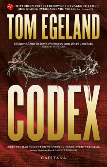 Codex av Tom Egeland (Innbundet)